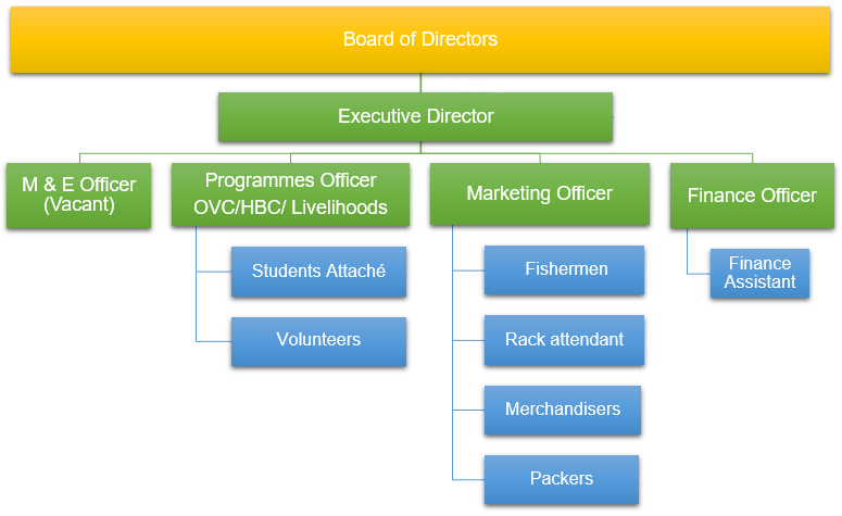 Organisation Structure of Tony Waite Organisation